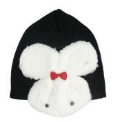 Winter Cute Carton Knitting Wool Baby Cap Hat Toddler Kids Rabbit Earflap Hat Children Toddlers Caps