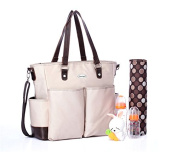 BayB Brand Colorland Nappy Tote Bag - Beige
