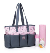 BayB Brand Colorland Nappy Tote Bag - Magic Owl