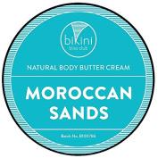 Bikini Bliss Club Natural Body Butter Cream, Moroccan Sands, 240ml