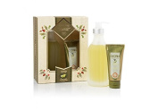 Cucina 2 pcs Deluxe Body Care Set Coriander and olive tree holiday gift set