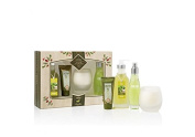 Cucina 4 pcs Deluxe Body Care Set Coriander and olive tree holiday gift set