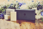 Floral Collection Bar Soaps Set, Luxury Soaps for Women including Gardenia, Violet and Wisteria Bar Soaps