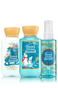 Bath and Body Works Gift Set Frosted Coconut Snowball 90ml Shower Gel, Lotion and Mist