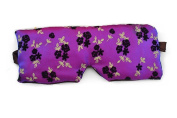 ThunderStar Anti Ageing Lavender Eye Pillow Silky Eye Mask Natural Relaxation - Stress Relief Improve Sleep & Reduce Wrinkles For Puffy Eyes, Dark Circles, Headaches, Migraines
