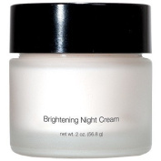 Brightening Night Cream - Rich yet Lightweight Face Moisturiser Cream for Sensitive, Oily or Severely Dry Skin - Anti-Ageing and Anti-Wrinkle for Women and Men 60ml