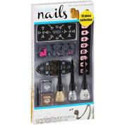 The Colour Workshop Art Deco Nails Creative Manicure Collection, 10 pc