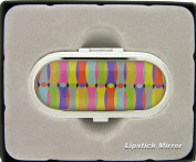 LC5344-16 Lipstick Holder With Mirror In Modern Glossy Print103079