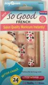 So Cool French Fake Nails False Nails Salon Nails 16330