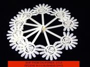 120 Tips Nail Art Design Acrylic Polish Fan Board Display Practise Sticks Wheel