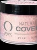 COVER PINK ORGANIC NAIL available 3 sizes 14,50,140grs