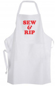 Sew & Rip – Adult Size Apron Seamstress Sewing Cute Art Crafts