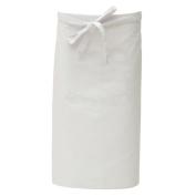 HUBERT Waist Apron with Pockets White