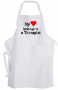 My heart belongs to a Therapist – Adult Size Apron