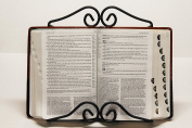 Wrought Iron Bible - CookBook Stand - Hand Made By Amish