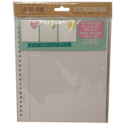 La De Dah Assorted Creative Craft Pretty Refill Sheets x 20 Lined Double Sided