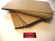 Cranberry Card Company A4 Recycled Kraft Paper 130Gsm X 50 Sheets