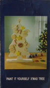 Paint It Yourself Wooden X-Mas Christmas Tree