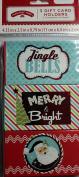 Christmas 3 Gift Card Holders