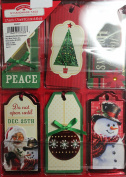 12 Christmas Gift Tags Handmade