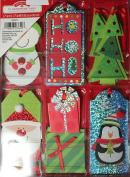 Christmas Gift Tags Handmade Assorted Designs