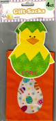 CHICKEN EASTER GIFT BAGS ( 4 CT - 1 PACK ) 23cm X 10cm