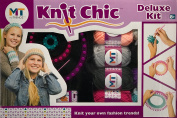 My Trendz Knit Chic Deluxe Knitting Kit - Create Your Own Fashion Trends!