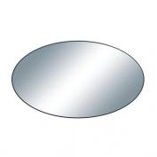 BENZARA Elegant Wood Oval Wall Mirror / 60150 /