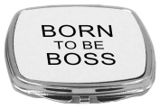 Rikki Knight Compact Mirror, Born to be Boss, 150ml