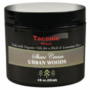 Taconic Shave URBAN WOODS Shaving Cream with Organic Oils - 120ml