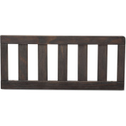 Delta Children Serta Toddler Guardrail, Rustic Ebony