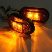 Tuscom 2x12 v / 24 v Tow Truck Side Marker Light LED Submersible Lamp