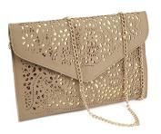 Nodykka Evening Envelope Pu Leather Shoulder Bag Messenger Cross Body Handbag Tote Purse