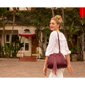 SUSU The Hannah Leather Satchel With Tassels