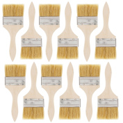US Art Supply 12 Pack of 7.6cm Paint and Chip Paint Brushes for Paint, Stains, Varnishes, Glues, and Gesso