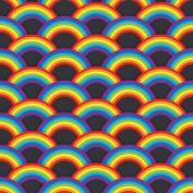 Vinyl Boutique Shop Craft Heat Transfer Rainbow Pattern Vinyl Sheets Heat Transfer Vinyl 0188-9