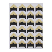 OULII 5pcs Photo Corners Kraft Paper Self-Adhesive Photo Album Protector Sticker