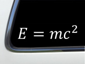 ThatLilCabin - Energy Mass Speed of light Einstein AS406 20cm car sticker decal