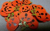 Halloween Wood Pumpkin Stickers Shapes
