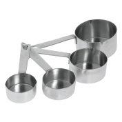 HUBERT Measuring Cup Set with Heavy Duty Strip Handles