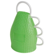 Sports Stadium Shaker Noisemaker-Green by US Toy