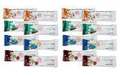 D's Naturals No Cow Bar Variety Sampler Pack, 16 Pack, Includes
