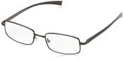 Magnivision Tech AL 32 BLK Rectangular Reading Glasses +1.75