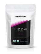 Terrasoul Superfoods Organic Triphala Powder, 470mls