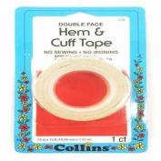 Collins Hem & Cuff Tape 1.9cm X 4.6m Double Face Tape C26