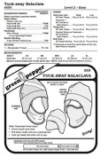 Tuck-Away Balaclava Face Mask Neck Warmer Hat #550 Sewing Pattern