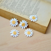 50pcs Sewing Crafts Baby Scrapbooking Dolls Accessory Flower Lace Applique Trims Patch Embroidered Embroidery Clothes Patches Fabric Diy Decoration Width 2.5cm