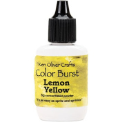 Ken Oliver Colour Burst Powder 6gm-Lemon Yellow by Ken Oliver Crafts