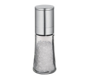 Cilio C613292 Bari Glass and Stainless Steel Spice & Salt Mill, 14cm