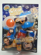 Super Miracle Bubbles Glow Bubble Blaster with Glowing Bubble Solution by Imperial Toy